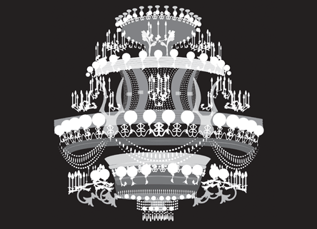 Oeffling-Ozment vector chandelier